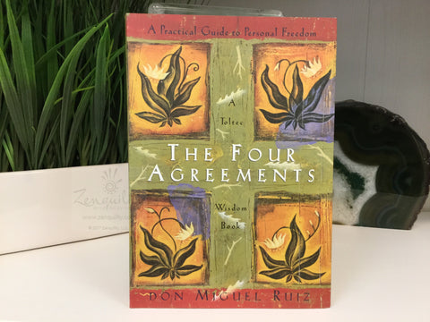 FOUR AGREEMENTS: A Practical Guide To Personal Freedom (q)