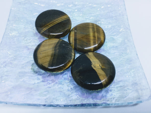 Tiger eye coin