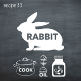 Cooked Rabbit for Adult Dogs (PP30)