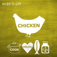 Cooked Chicken for Adult Cats (PP31)