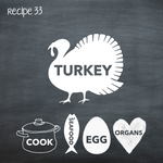 Cooked Turkey for Adult Dogs (PP33)