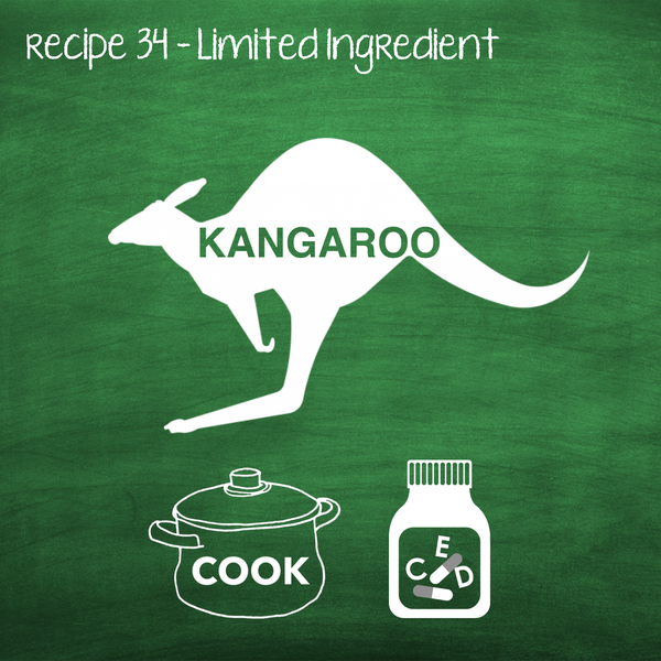 Cooked Kangaroo for Adult Dogs (PP34)