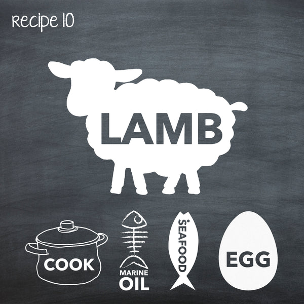PP10 Cooked Lamb Recipe for Adult Dogs