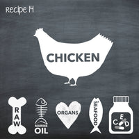 PP14 Raw Chicken Recipe for Adult Dogs