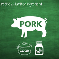 PP2 Cooked Pork Recipe For Adult Dogs