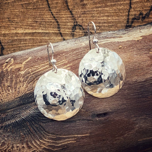 Medium Hammered Earrings