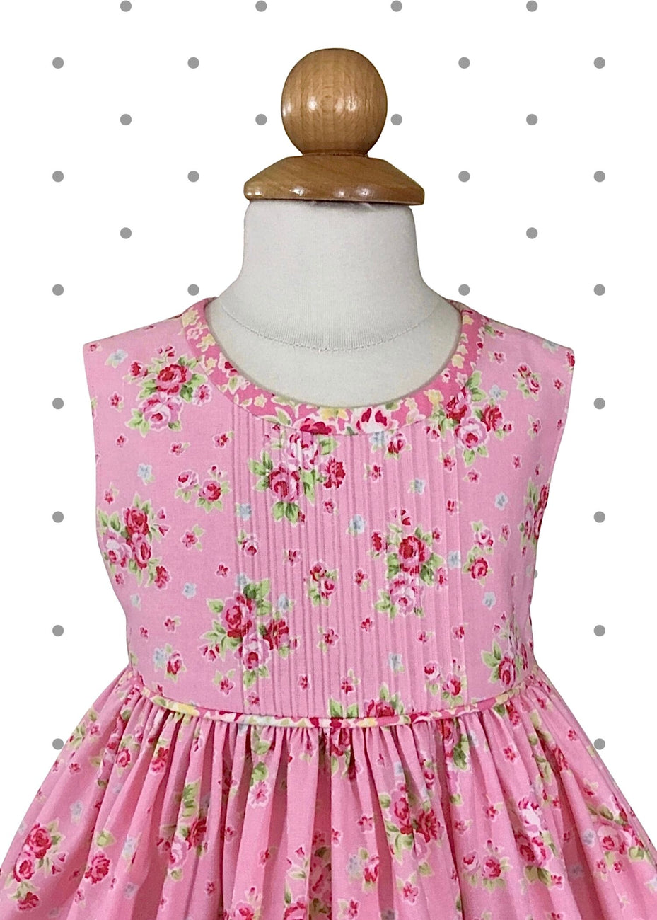 Tea Party Pink ~ Size 12 months