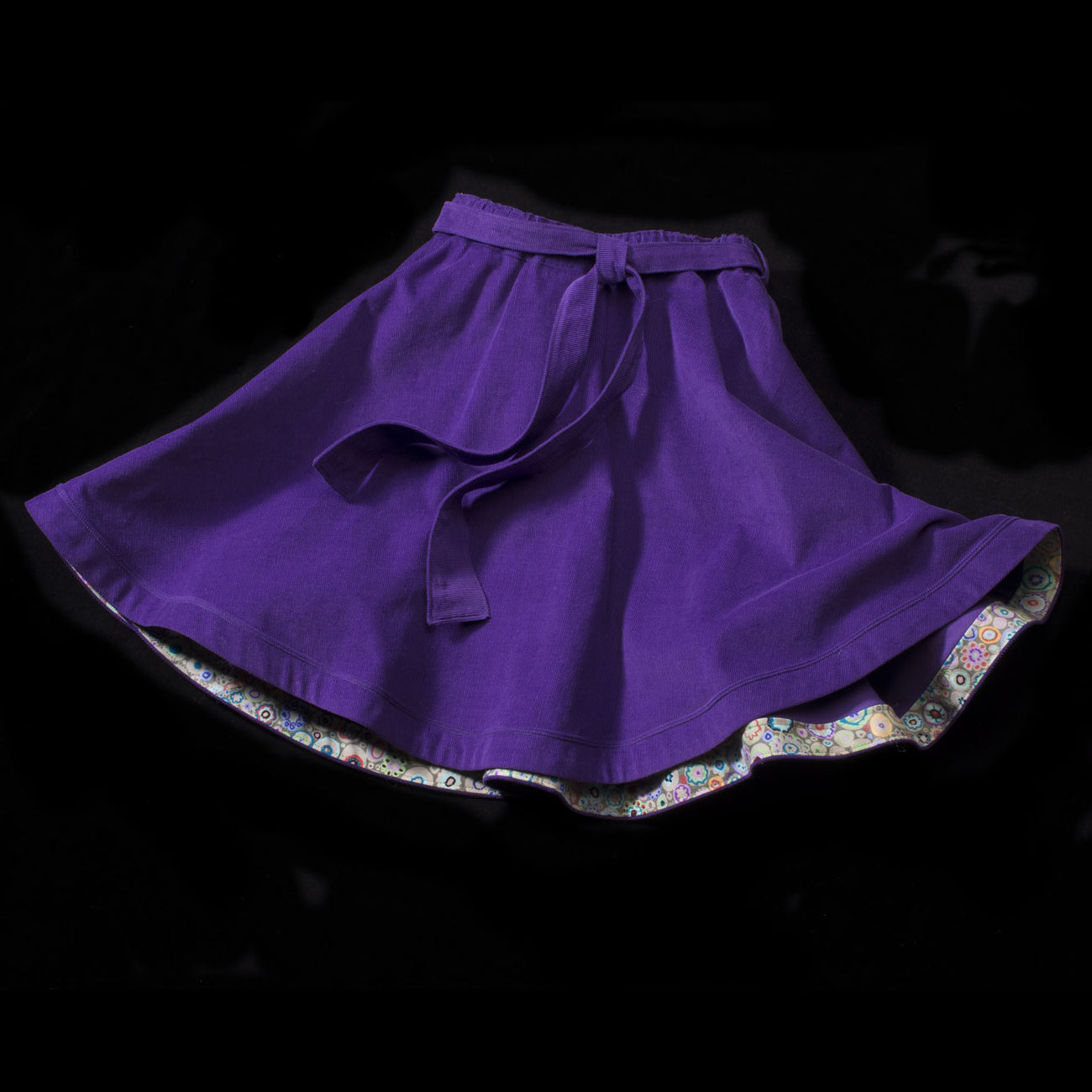 The Allegro Skirt with Sash