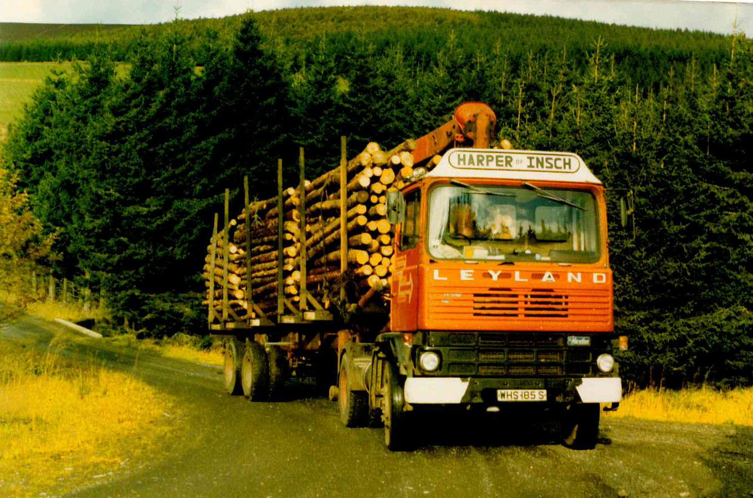 Harpers first lorry - Leyland DAF