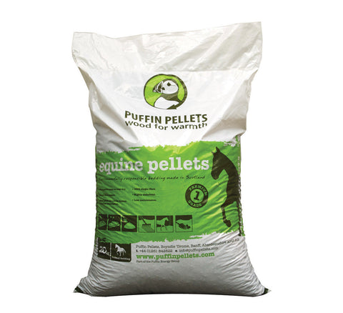 Puffin Pellets© Equine Bedding Pellets