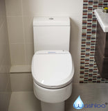 Washloo Classic R Electric Bidet Toilet Seat with Remote Control