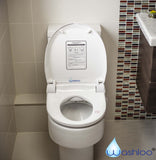 Electric Bidet Toilet Seat with Remote Control - open view