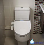 Washloo Elite A Electric Bidet Toilet Seat with Side Control