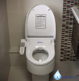 Washloo Elite A Electric Bidet Toilet Seat - open view