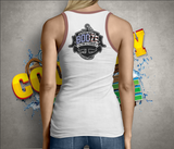 2020 Ladies Low Cut Tanktop