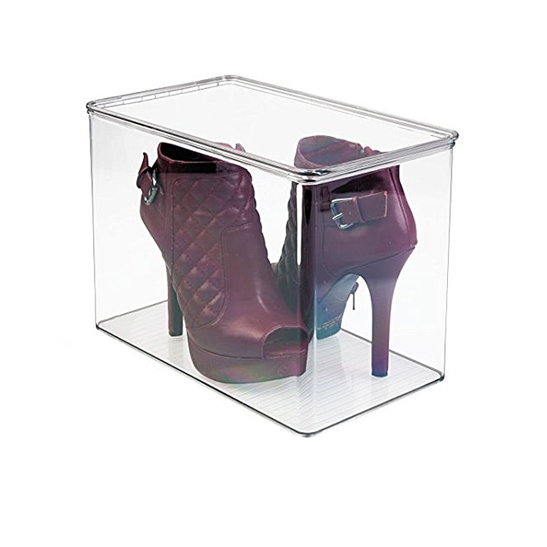 Closet Shoe Box- Pumps Tall,Clear