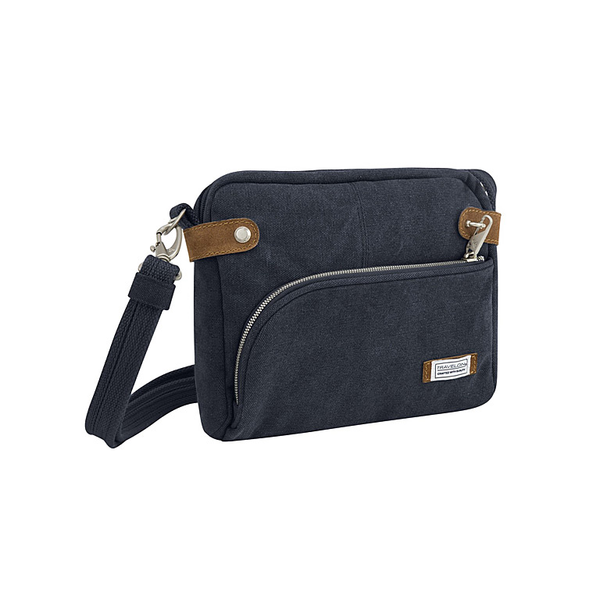 Anti-Theft Heritage Crossbody Bag, Indigo