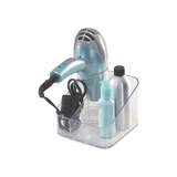 Clarity Counter Top Hair Dryer Holder, Clear
