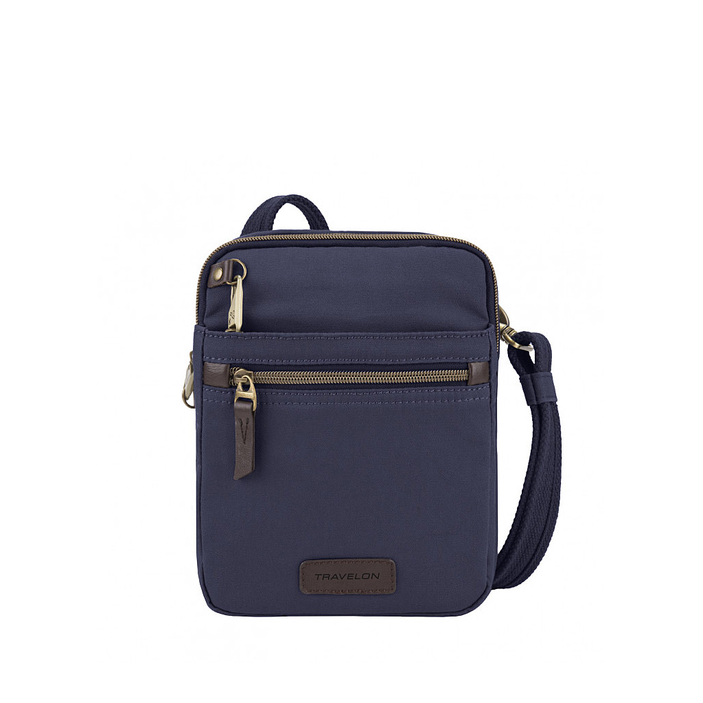 Anti-Theft Courier Small N/S Slim, Navy