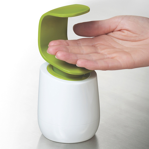 C Pump Dispenser, White/Green