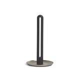 Keyhole Paper Towel Holder, Black