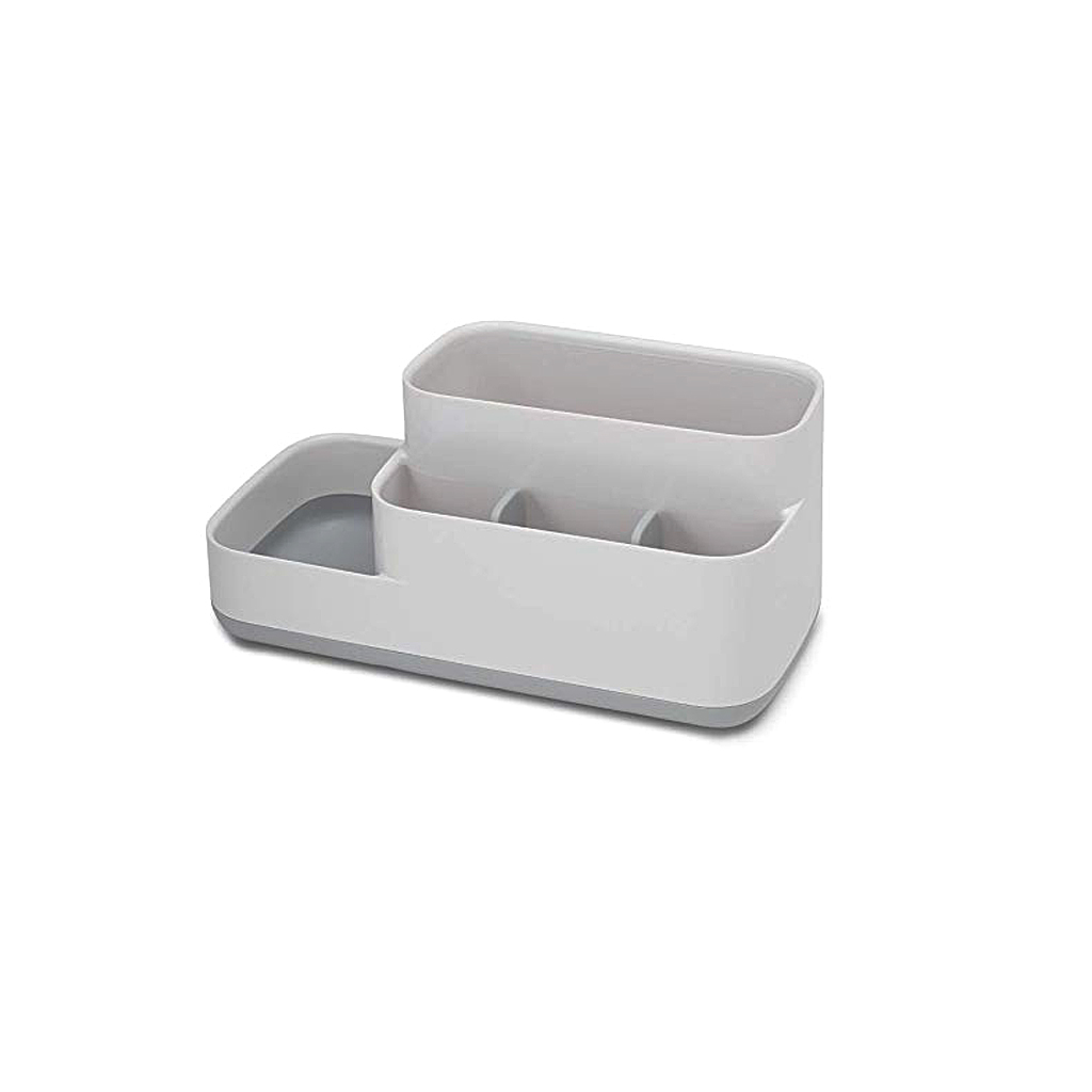 EasyStore™ Bathroom Caddy XL, Grey/Wht