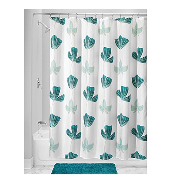 Ava Floral Shower Curtain, Blue Multi