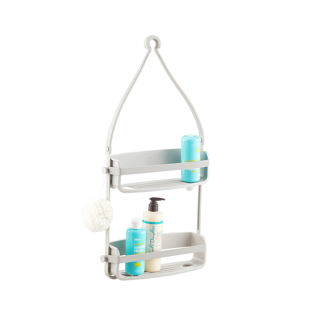 Flex Shower Caddy, White