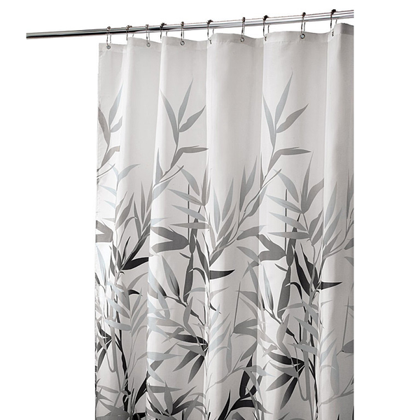 Anzu Shower Curtain, Black/Tan
