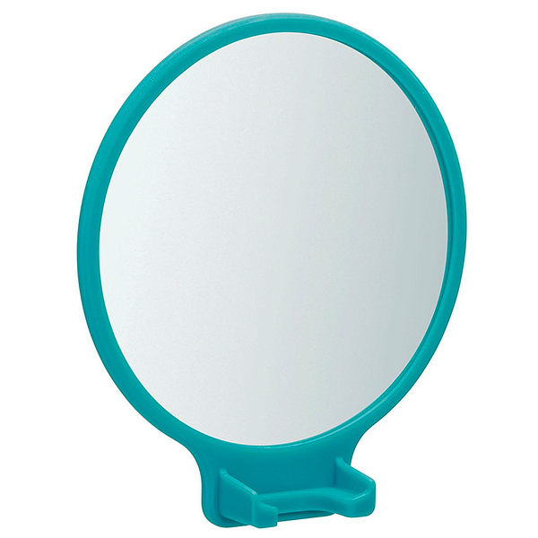 Power Cling Round Mirror with Razor Holder