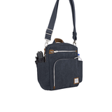Anti-Theft Heritage Tour Bag, Indigo