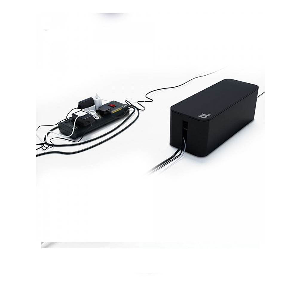 CableBox-cable organizer, Black