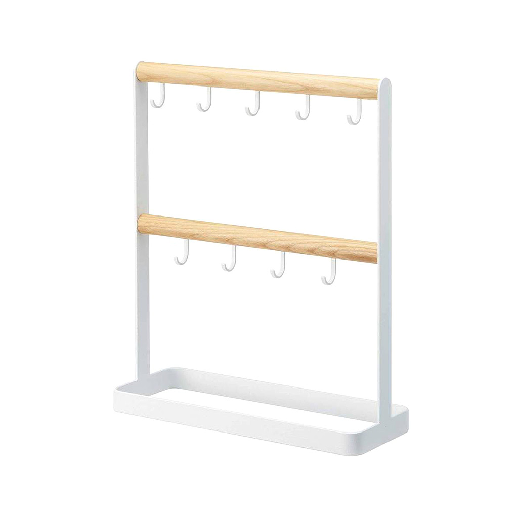 Tosca Key Rack, White