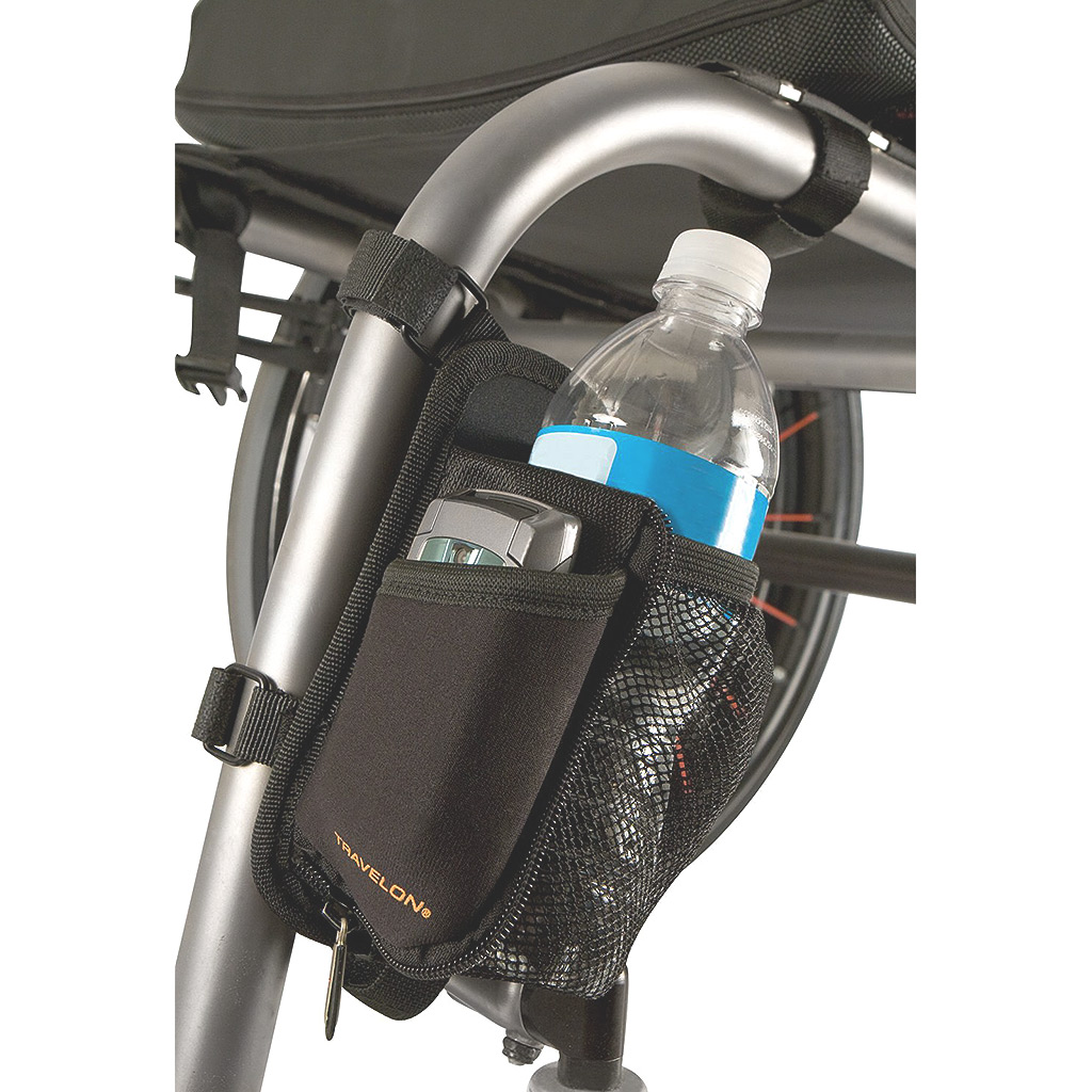 On the Go Water Bottle Holder-Black