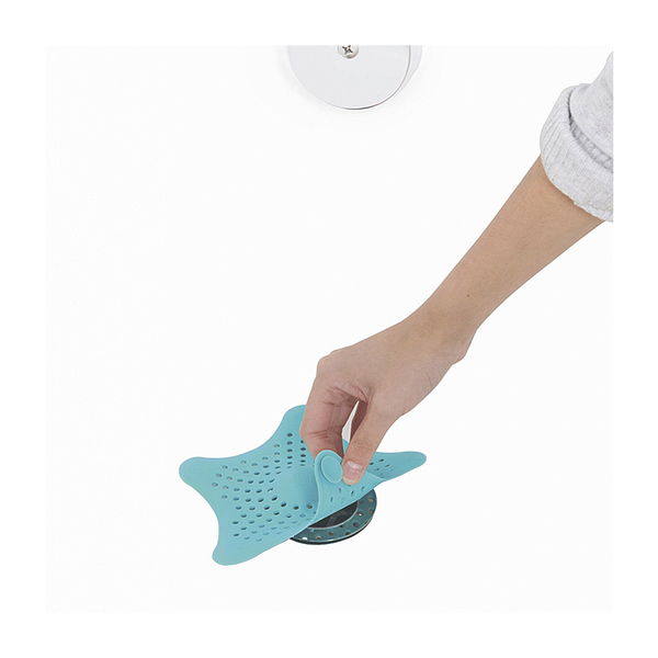 Starfish Hair Catcher, Surf Blue