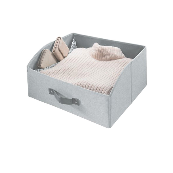 Codi Two Sided Storage Drawer, Grey