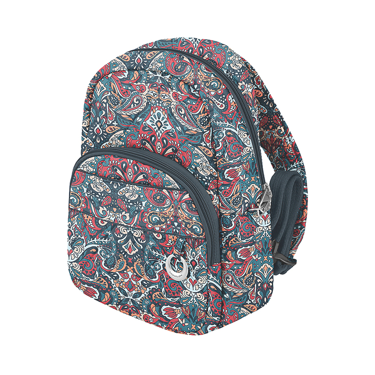 Anti-Theft BoHo Daybag Backpack, SMP