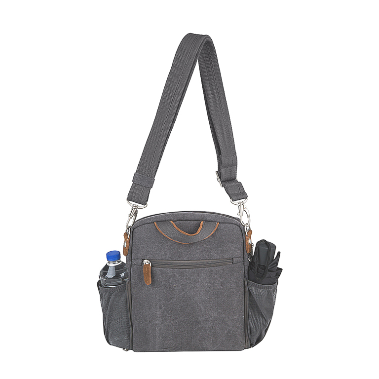 Anti-Theft Heritage Tour Bag, Pewter