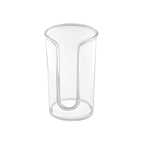 Clarity Cosmetic Pad Dispenser, Clear