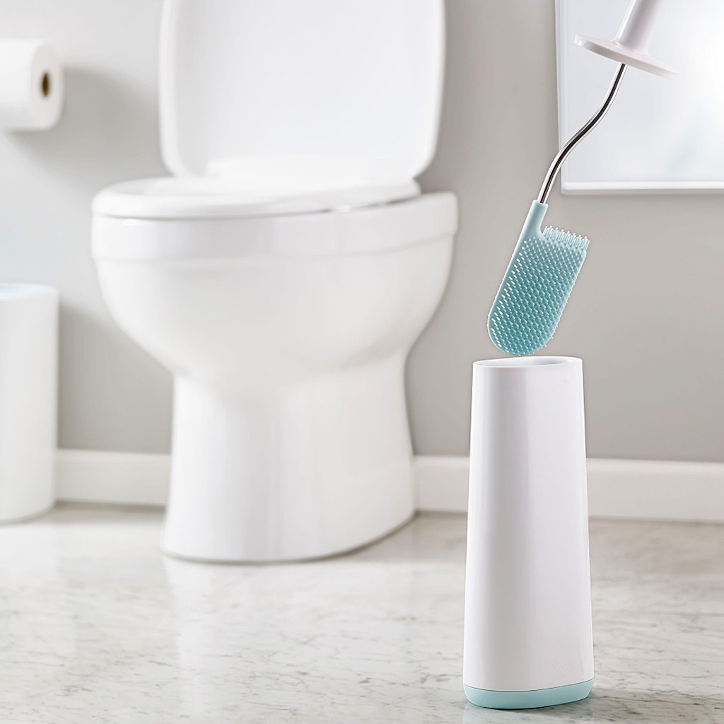 Flex Smart Toilet Brush, Wh/Bl