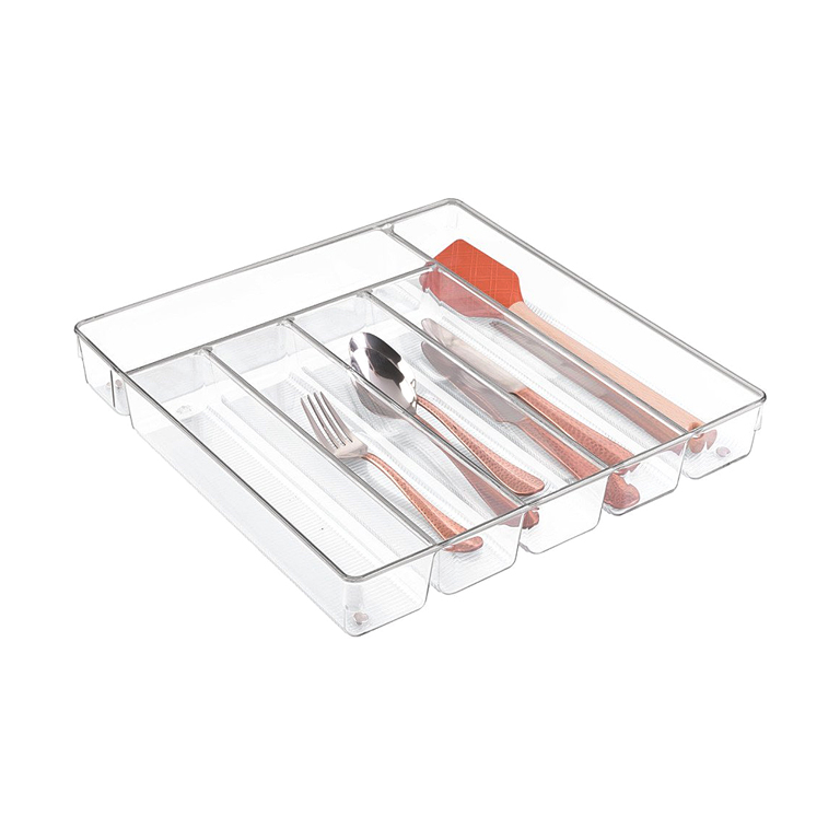 Linus Cutlery Tray Max, Clear