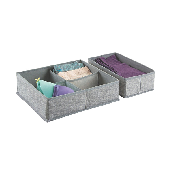 Aldo Drawer Organizer 2S, Large, Gray