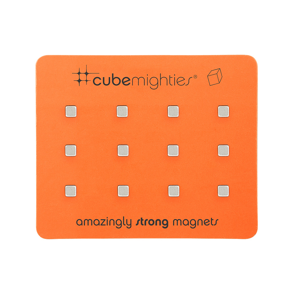 Cube Mighties Magnets, 12 pack