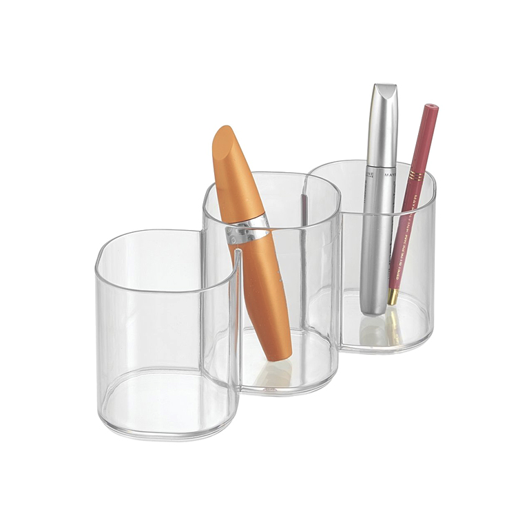 Clarity Cosmetic Trio Cup, Clear
