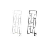 Tower Magazine Rack,10Wx7Dx28H