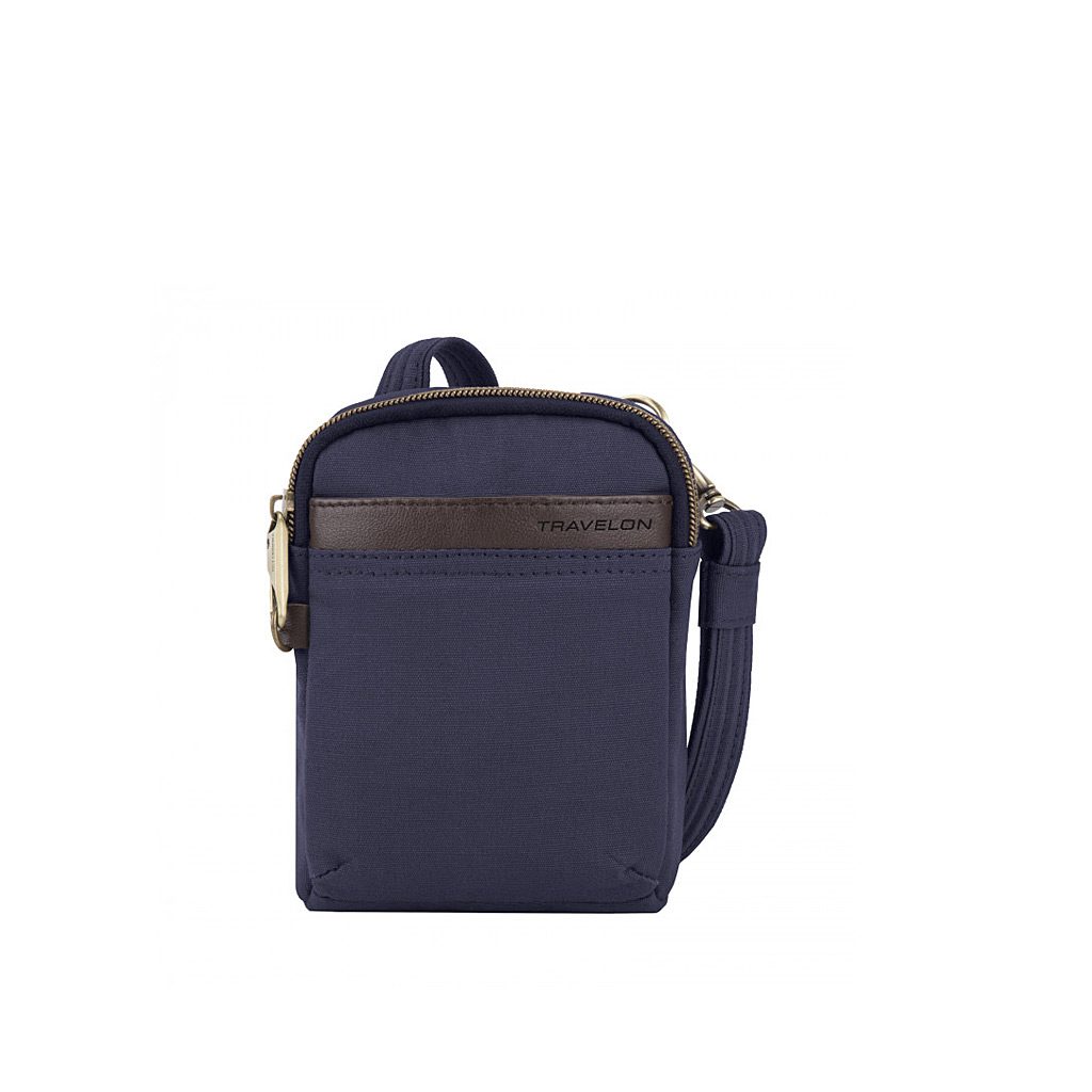 Anti-Theft Courier Mini Crossbody, Navy