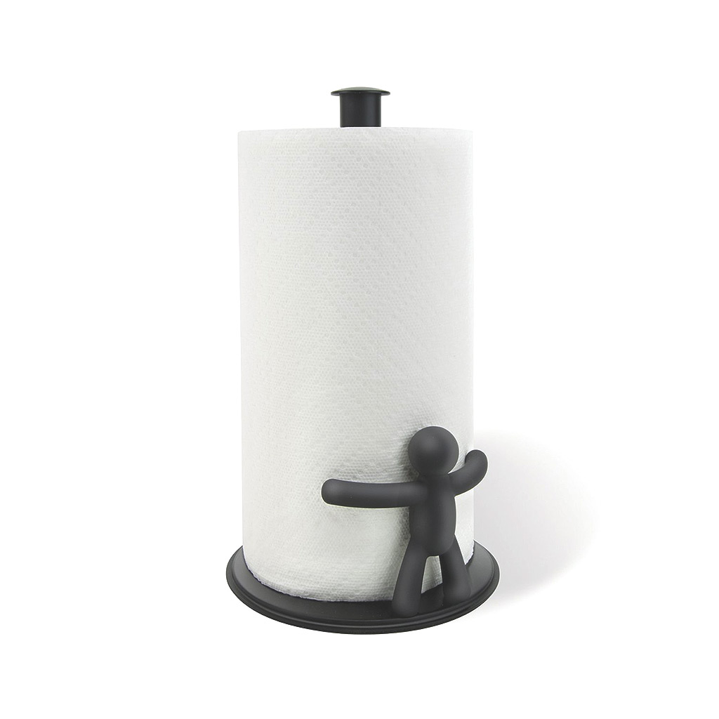 Buddy Paper Towel Holder, Black