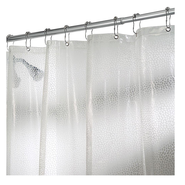 Rain EVA, Shower Curtain, Clear