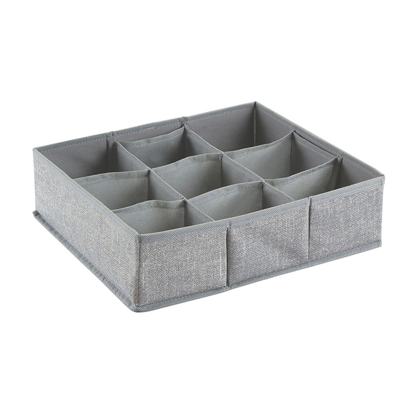 Aldo Drawer Organizer 9S, Large, Gray
