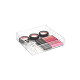 "Clarity Drawer Organizer, 8x8x2"", Clear"